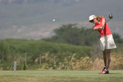 Anna Rawson, Portugal ladies Open 2006, Oitavos Stock Photography