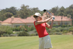 Anna Rawson, Portugal ladies Open 2007, Oitavos Royalty Free Stock Photography