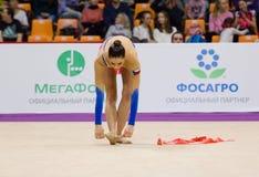 Anna Sebkova, Tsjechische Republiek Lint Stock Foto's