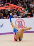 Anna Sebkova, Tsjechische Republiek Lint Stock Afbeelding