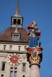 Anna Seiler Brunnen Statue, Bern Stock Photos