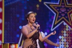 Anna Semenovich in Megamall Vegas Royalty Free Stock Photo