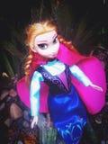 Anna Solo. Elsa Frozen Walking Character Stock Photo