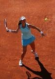 Anna Tatishvili (GEO) in Roland Garros 2011 Royalty-vrije Stock Foto's