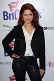 Anna Trebunskaya lors du lancement officiel de BritWeek, emplacement privé, Los Angeles, CA 04-24-12 Images libres de droits
