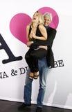 Anna und kostka do gry Liebe (Anna i miłość) Zdjęcia Stock