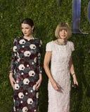 Anna Wintour Arrives at the 2015 Tony Awards Royalty Free Stock Photos