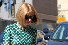 Anna wintour Royalty Free Stock Photography