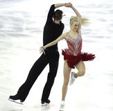 Anna Yanovskaya και Sergey Mozgov από τη Ρωσία Στοκ Φωτογραφίες