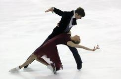 Anna YANOVSKAYA/Sergey MOZGOV (RUS) Στοκ Φωτογραφία