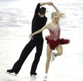 Anna Yanovskaya and Sergey Mozgov from Russia Stock Photos