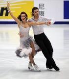 Anna Zadorozhniuk & Sergei Verbillo (UKR) royalty-vrije stock foto's