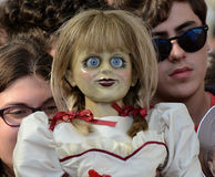 Annabelle 2: Δημιουργία στο φεστιβάλ 2017 ταινιών Giffoni Στοκ Φωτογραφίες