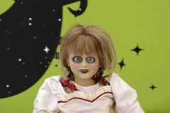 Annabelle 2: Δημιουργία στο φεστιβάλ 2017 ταινιών Giffoni Στοκ φωτογραφίες με δικαίωμα ελεύθερης χρήσης