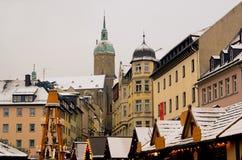 annaberg buchholz αγορά Χριστουγέννων Στοκ Φωτογραφίες
