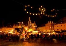 annaberg buchholz αγορά Χριστουγέννων Στοκ Εικόνα