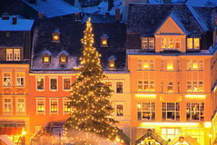 Annaberg-Buchholz christmas market Royalty Free Stock Photography