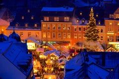 Annaberg-Buchholz christmas market Stock Image
