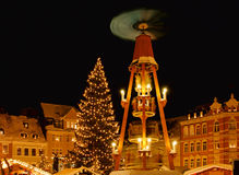 Annaberg-Buchholz christmas market Royalty Free Stock Photo