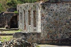 Annaberg Cukrowa plantacja w St John Obraz Royalty Free