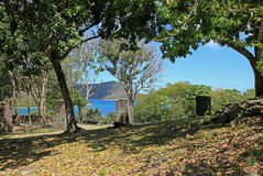 Annaberg Sugar Plantation en St John fotos de archivo libres de regalías