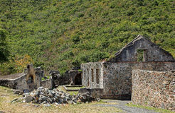 Annaberg Sugar Plantation i St John Arkivbilder