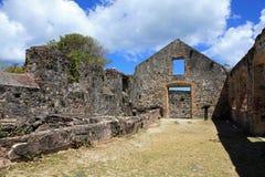 Annaberg Sugar Plantation i St John royaltyfri bild