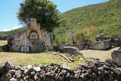 Annaberg Sugar Plantation i St John royaltyfria foton