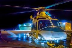 Annaffii dopo il volo di notte Fotografia Stock Libera da Diritti