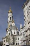 Annahme-Kathedrale im Charkiw-Stadtzentrum Lizenzfreies Stockfoto