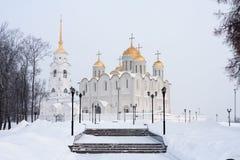 Annahme-Kathedrale in Vladimir Lizenzfreie Stockfotos