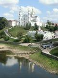 Annahmekathedrale in Vitebsk, Weißrussland Stockbild