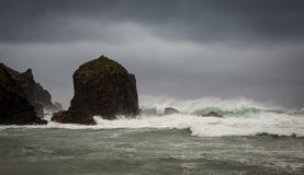 Annalkande Hebridean storm Arkivbild