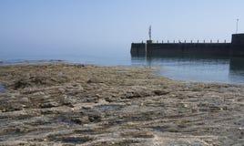Annalong-Hafen Irland lizenzfreies stockbild