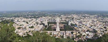 Annamalaiyar temple and Thiruvannamalai. Royalty Free Stock Photography