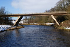 Annan ποταμός Flyover Στοκ Φωτογραφίες