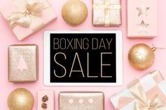 Annandagförsäljningsbakgrund Online-shopping, jul Sale royaltyfri foto