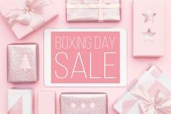 Annandagförsäljningsbakgrund Online-shopping, jul Sale royaltyfri fotografi