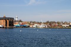 Annapolis City Skyline Stock Image