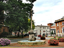 Annapolis - a city in the United States, the capital of Maryland. The architecture of the state capital of Maryland in Annapolis, United States of America Royalty Free Stock Photo