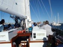 Annapolis dans la baie de chesapeake Photo stock