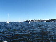 Annapolis in de Chesapeake baai Stock Afbeelding