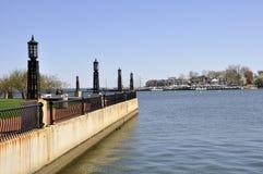 annapolis hamn maryland Arkivfoto