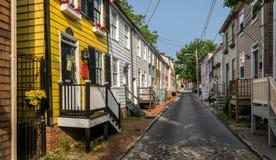 Annapolis historic district Royalty Free Stock Photo