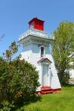 Annapolis Lighthouse, Annapolis Royal, NS, Canada royalty free stock photo