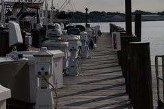 Annapolis marina Fotografering för Bildbyråer