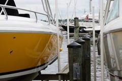 Annapolis marina Arkivbild