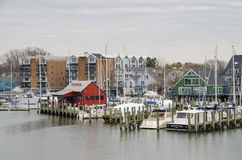 Annapolis Marina Royalty Free Stock Images