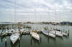 Annapolis Marina Stock Image