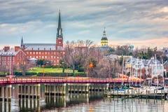 Annapolis, Maryland, los E.E.U.U. fotos de archivo libres de regalías